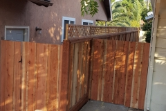 Residential Fence Repair, October 2017