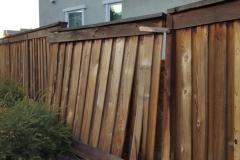 Residential Fence (Before), December 2017