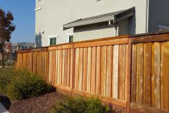 Residential Fence (After), December 2017